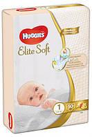 """Підгузки Huggies Elite Soft"""" 1 (3-5 кг)-50 шт."""