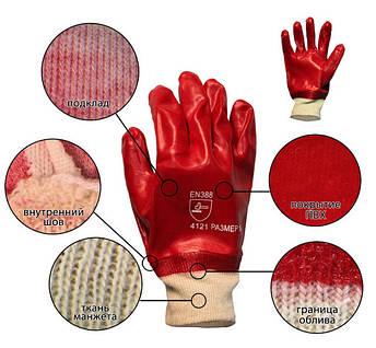 Перчатки нитриловые маслобензостойкие, узкий манжет, Польша, уп. — 12 пар, фото 2