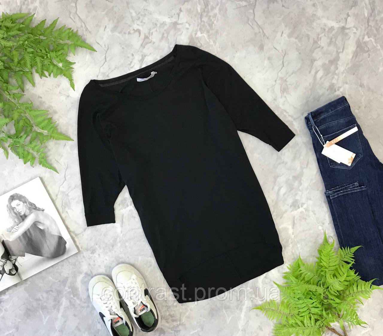 Удлиненная футболка для базового гардероба  TS1849099