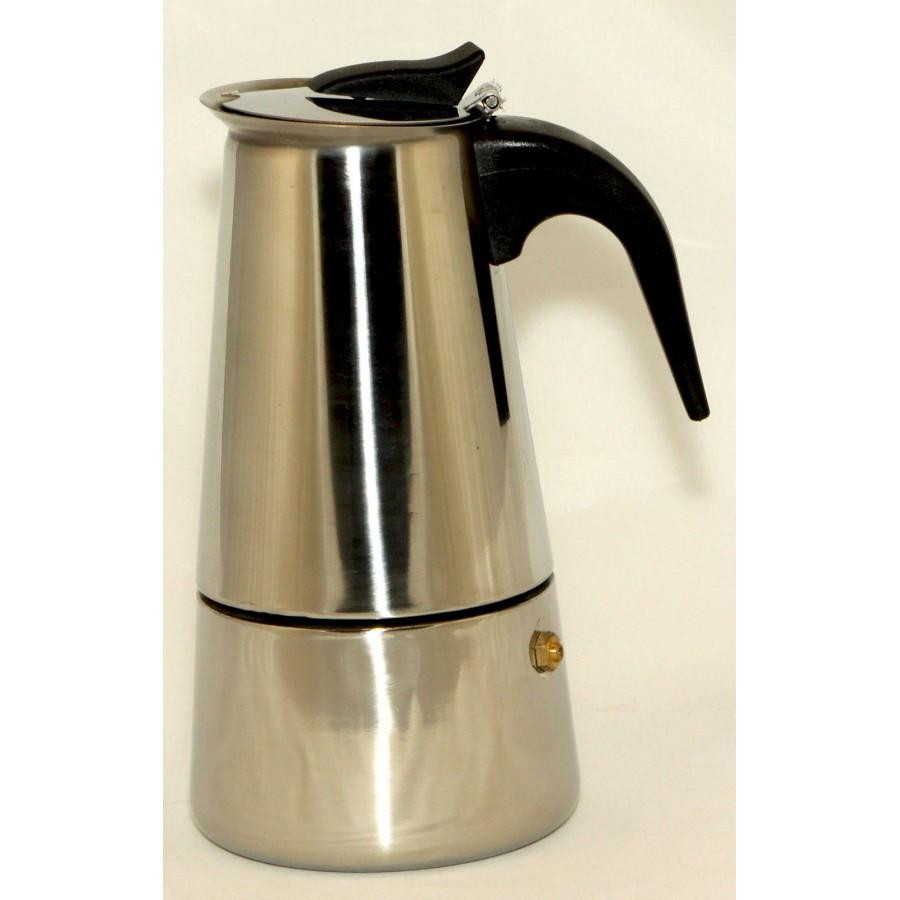 Кофеварка гейзерная Domotec DT-2809 (на 9 чашек)