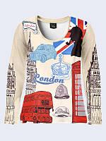 Лонгслив SYMBOLS OF LONDON, фото 1
