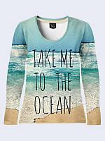 Лонгслив TAKE ME TO THE OCEAN, фото 1