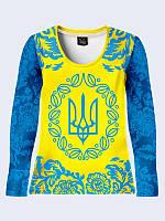 Лонгслив Герб Украины, фото 1