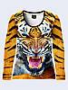 Лонгслив Злой тигр