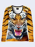 Лонгслив Злой тигр, фото 1