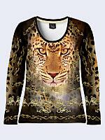 Лонгслив Золотой леопард, фото 1