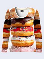Лонгслив Сладкие пончики, фото 1