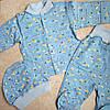 Набор комплект с шапочкой детский для новорожденного мальчика
