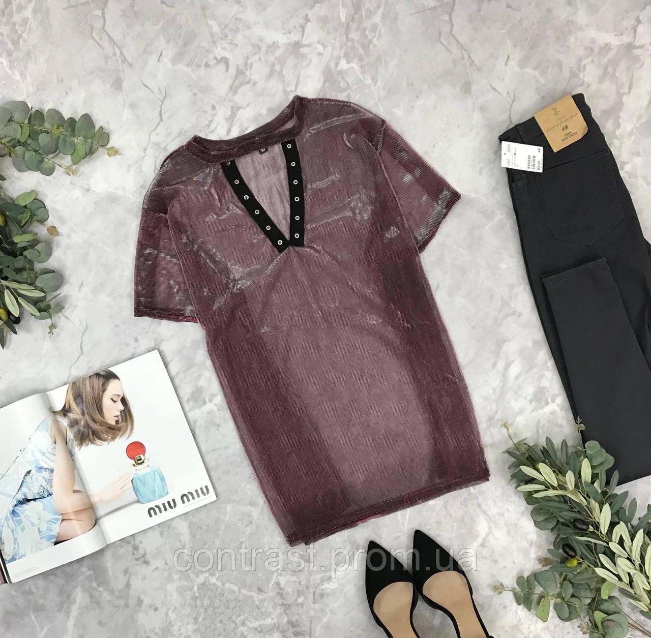 Стильная блуза с отблеском  BL1849201