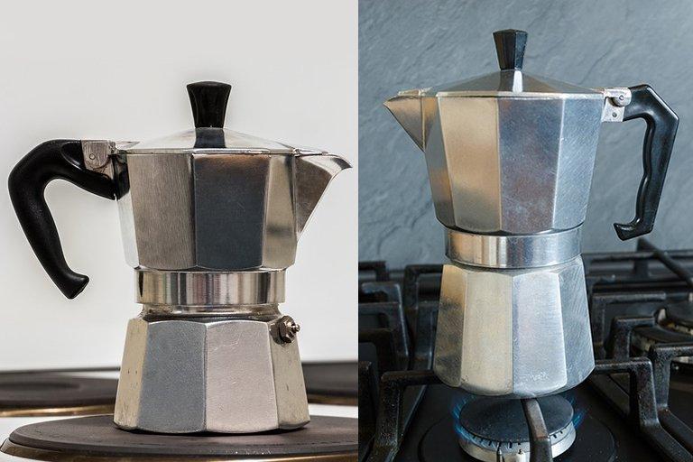 Кофеварка гейзерная Domatec DT-2906 (на 6чашек)