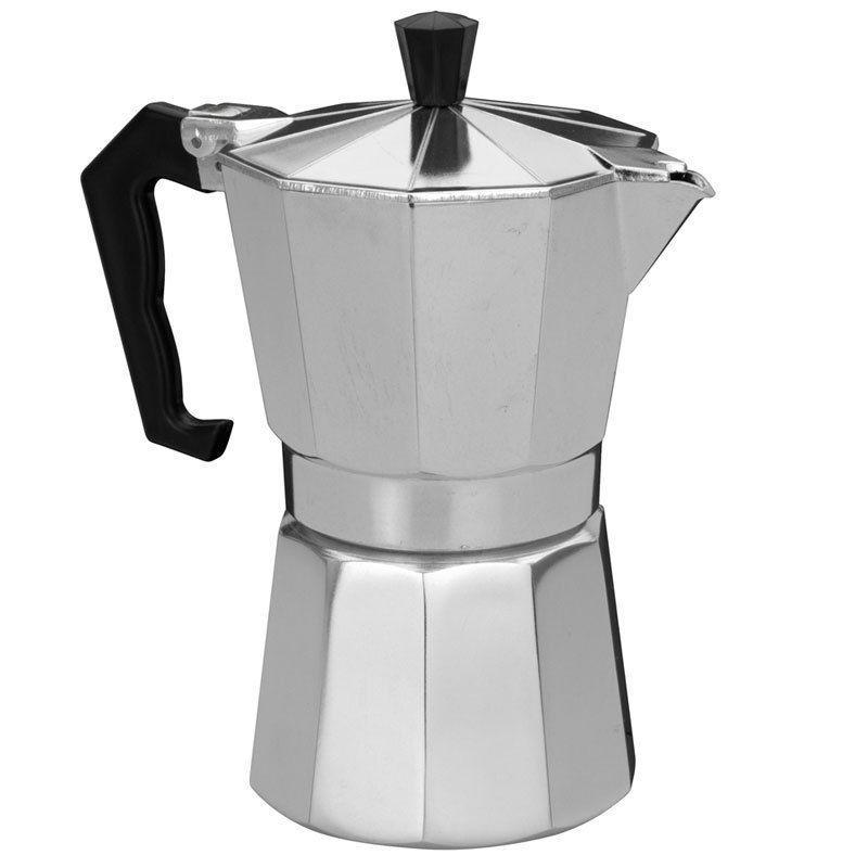 Кофеварка гейзерная Domatec DT-2909 (на 9 чашек)