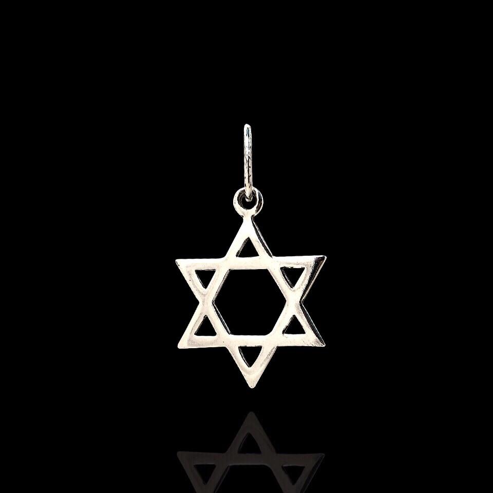 Срібна підвіска Зірка Давида