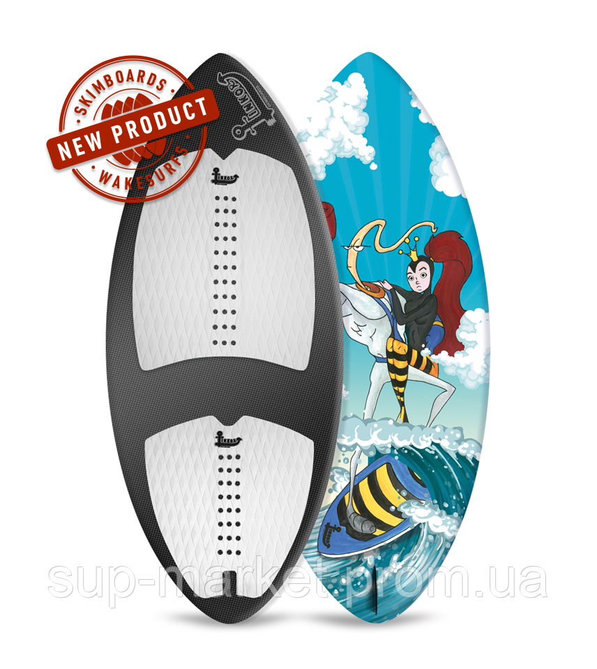 Вейксёрф Linkor Skimboards Era Carbon, M/53
