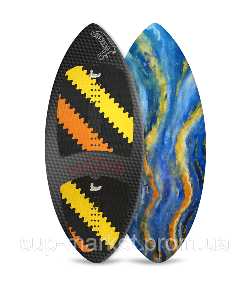 Вейксёрф Linkor Skimboards Twin Carbon, M/53