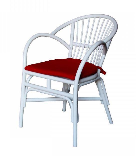 Кресло Флорида белое