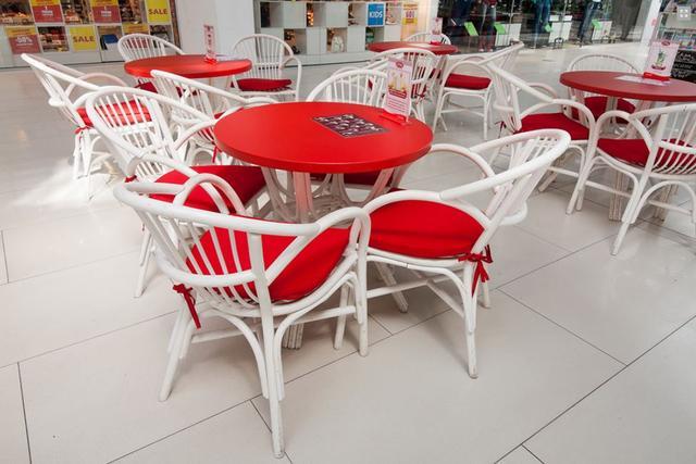 Кресло Флорида в интерьере кафе