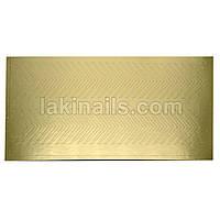 Металлизированные наклейки, золото, 104G