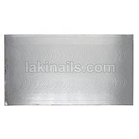 Металлизированные наклейки, серебро, 105S