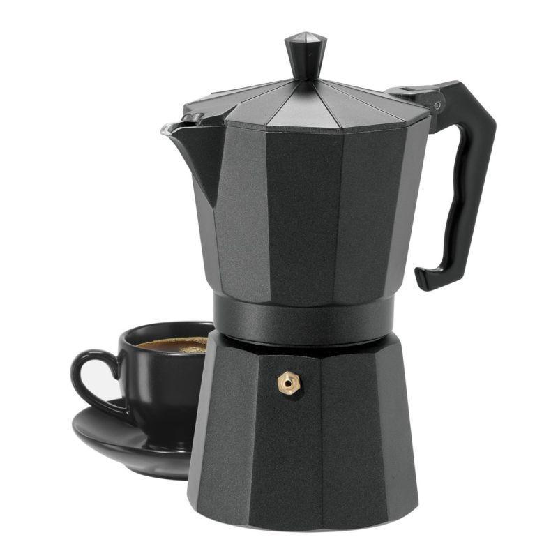 Гейзерна кавоварка Domatec DT-2709 (на 9 чашок)