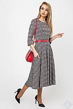 Женское клетчатое расклешенное платье(Трисс leo), фото 3