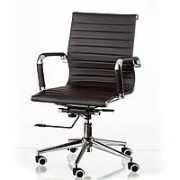 Кресло Солано 5 низкая спинка черное