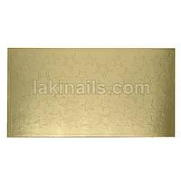 Металлизированные наклейки, золото, 106G
