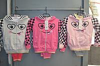 Спортивные трикотажные костюмы для девочек.Размер 98-128см.Фирма GOLOXY,Венгрия, фото 1