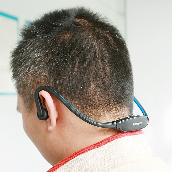 Плеер наушники Sport MP3 синий