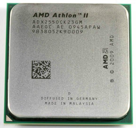 Процессор AMD Athlon II X2 255 (AM3/2M/3,1GHz/65W)