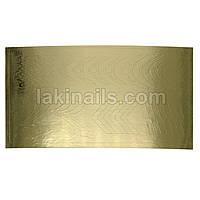 Металлизированные наклейки, золото, 168G