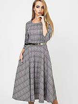 Женское клетчатое расклешенное платье(Трисс leo), фото 2