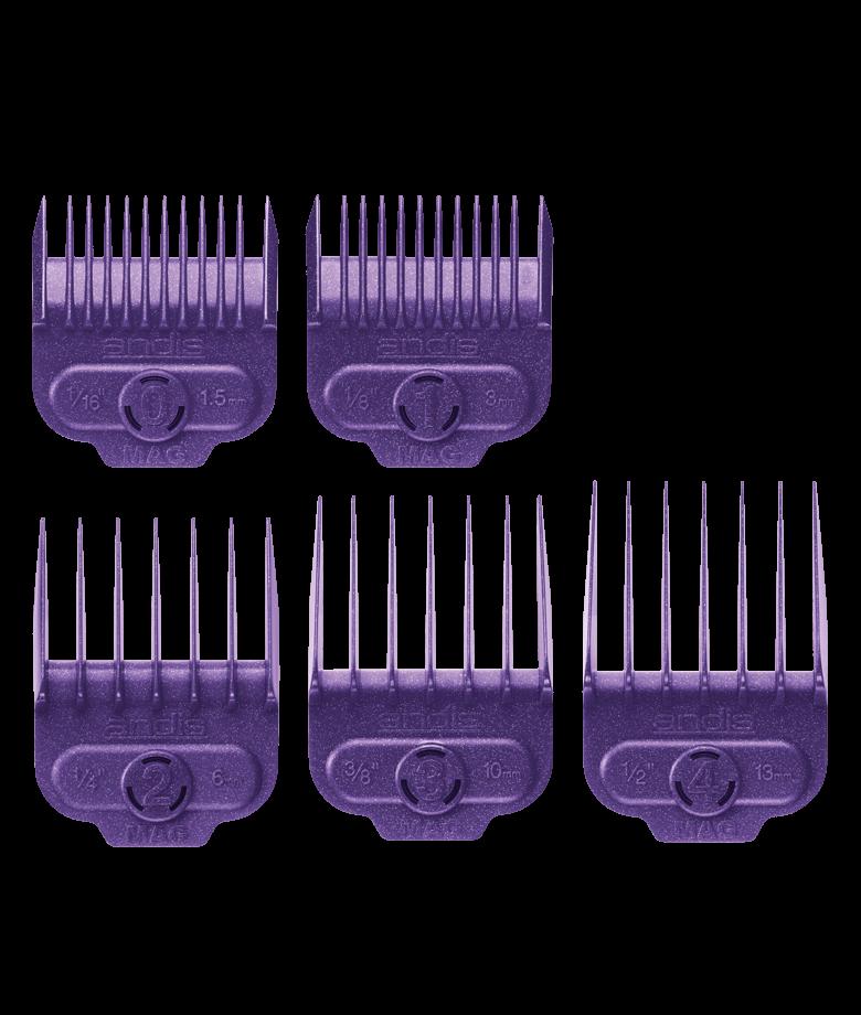 Набор магнитных насадок для машинок Andis, 66345 Magnetic, 5 шт.