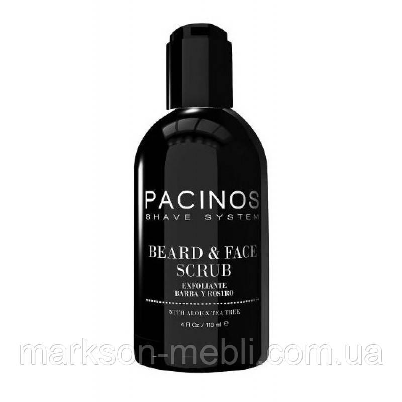 Скраб для лица и броды Pacinos Beard and Face Scrub