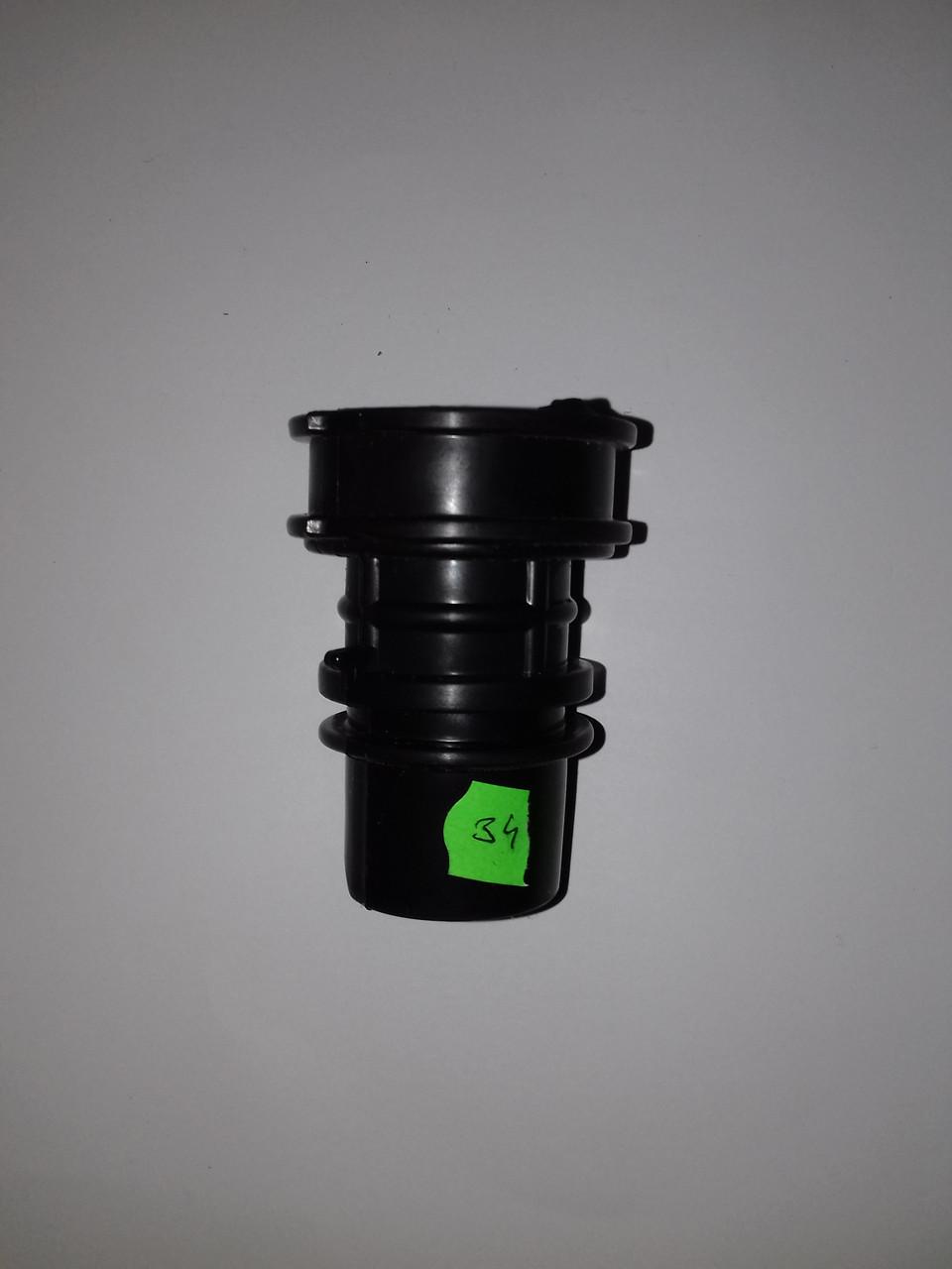 Патрубок фильтра HONDA DIO AF-34/35 ZX (черный)