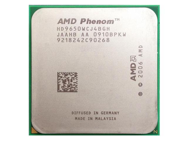 Процессор AMD Phenom X4 9650 (AM2+/2.3GHz/2M/95W)