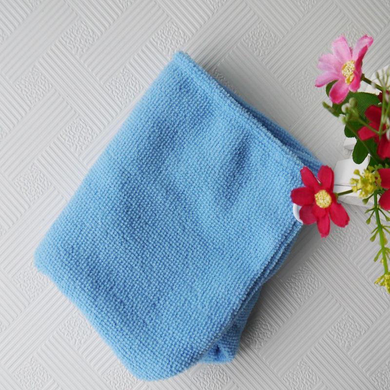 Полотенце-тюрбан для волос (голубой)