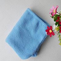 Полотенце-тюрбан для волос (голубой), фото 1