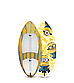 Вейксёрф детский Linkor Skimboards Monstro E-Glass Kids, XS/45, фото 3