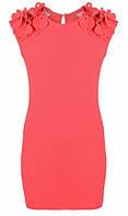 Коралловый сарафан для девочки 122 размер