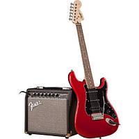 Гитарный набор FENDER SQUIER STRAT PACK HSS CANDY APPLE RED