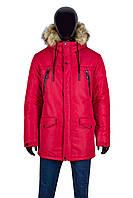 Куртка мужская зимняя КЗ-172-9 Красный
