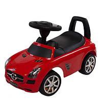 Машинка каталка-толокар Mercedes Sun Baby, с музыкальной панелью, фото 1