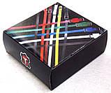 Женский коричневый кожаный ремень JK в подарочной коробке, фото 4