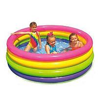 Надувной бассейн Intex 56441 Радуга объем 780 л
