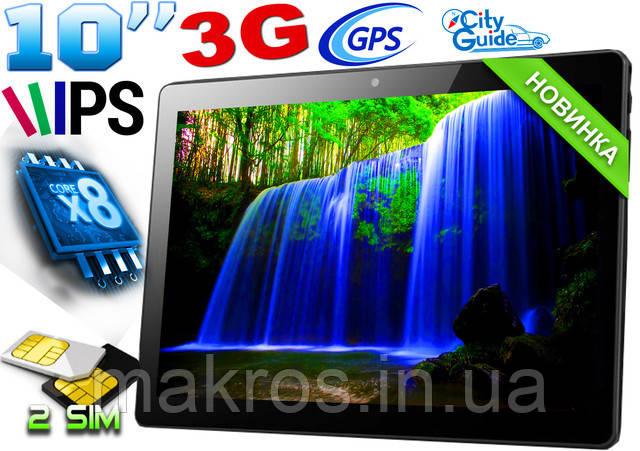 Планшет-телефон ZH960  2 SIM, GPS, 3G, экран 10 Android 6 Black