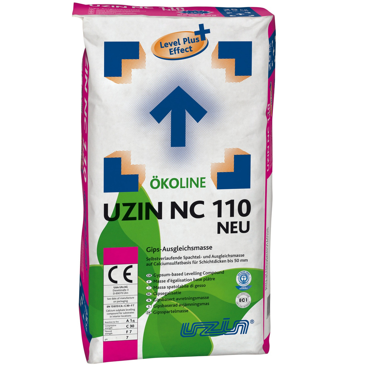 Нивелир-масса UZIN NC 110 NEU