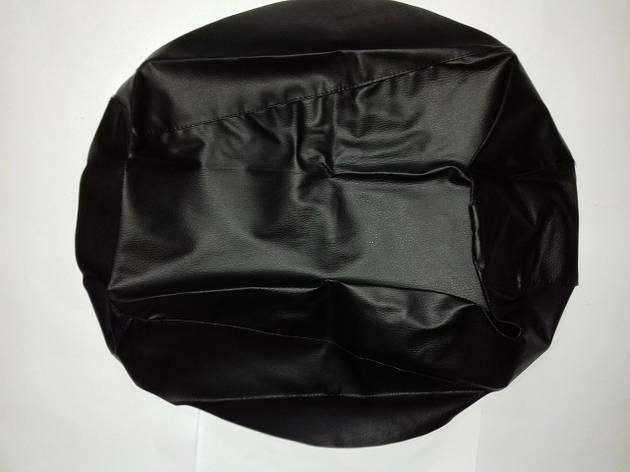 Чехол сиденья HONDA DIO AF-27/28 черный, без канта JOHN DOE, фото 2