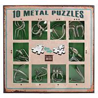 Набор головоломок Eureka 3D Puzzle 10 Metall Puzzles Green (473357R)