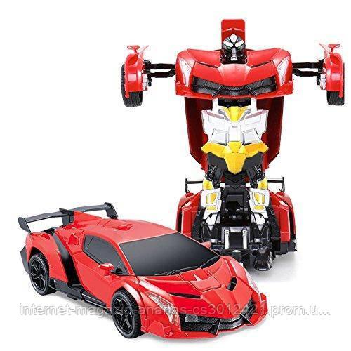 Игрушка Робот Трансформер Машинка на пульте управления