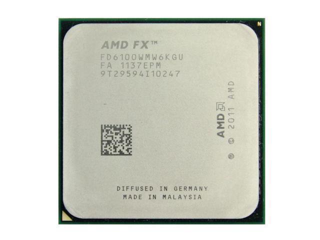 Процессор AMD FX-6100 (AM3+/3,6GHz/8M/95W)